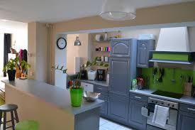 passe plat cuisine salon cuisine semi ouverte avec passe plat avec plan cuisine ouverte sur