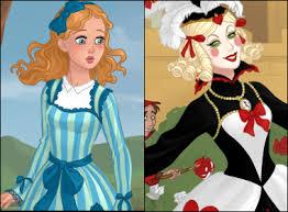 alice wonderland dress game