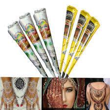 weiße henna tattoos ebay