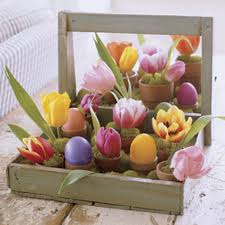 Rustic Easter Table Decorations by Easter Decorations And Crafts Easter Table Decorations
