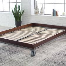 Casters For Bed Frame Size Heavy Duty Industrial Platform Bed Frame On Casters
