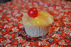 the chubby vegan pineapple upside down cupcakes