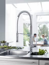 robinetterie grohe cuisine on fait comme les pros avec grohe k7 un robinet d évier de