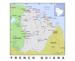 Cannes Map by Maps Of French Guiana Detailed Map Of French Guiana In English