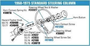 1968 corvette steering column corvette parts c3 1968 1975 standard steering column