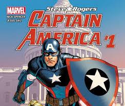 captain america steve rogers 2016 1 comics marvel