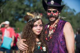 League Halloween Costume Dress Costumes Stole Show Voodoo Fest