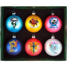 bones brigade christmas 6 ornaments box set