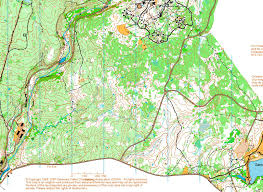 Map Your Run Hickory Run State Park Pa March 22nd 2009 Orienteering Map