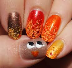 43 best fall and thanksgiving nail art images on pinterest fall