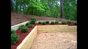Cedar Landscape Timbers by Retaining U2013 A Ward