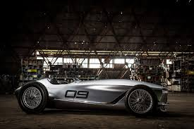 infiniti van the infiniti prototype 9 u0027s racing body hides an electric heart