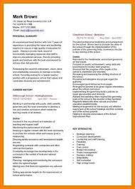 Best Resume For Teacher by 7 Sample Of Cv For Teachers Packaging Clerks
