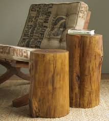 Pictures Of Tree Stump Decorating Ideas Tree Stump End Table Modern Interior Design Inspiration