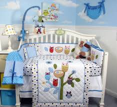 owl baby boy crib bedding sets baby boy crib bedding sets ideas