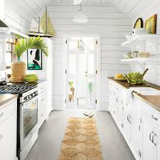 What Is A Galley Kitchen 9 Breezy Island Kitchens Coastal Living