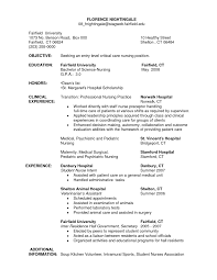 Sample Resume For Entry Level by 13 Nursing Student Resume Samples The Five Paragraph Essay