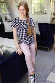 school 6th grade girl short skirt outfit ideas what to wear to middle school and elementary school
