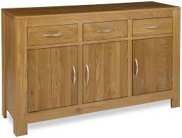 Modern Sideboard Uk Buy Milano Oak Sideboard 3 Door Online Cfs Uk