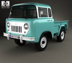 willys jeep truck interior willys jeep fc 150 forward control 1957 3d model hum3d