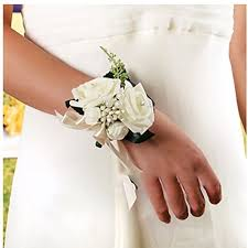 wedding wrist corsage wrist corsages for weddings co uk