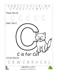 c preschool worksheets letter c worksheets preschool
