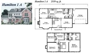 Colonial Floor Plans 2 Story Colonial Modular Home Builders Massachusetts Rhode