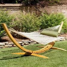 hatteras hammocks deluxe hammock u0026 wood stand