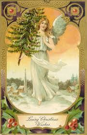 antique images vintage christmas graphic clip art of angel with