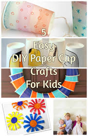 5 easy diy paper cup crafts for kids discountqueens com