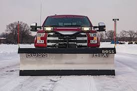 Snow Plow Lights How To Choose The Right Snow Plow For Your Ford Ford Trucks Com