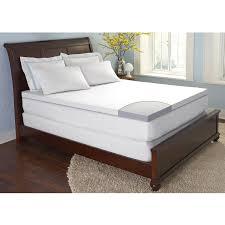 King Mattress Topper Bedroom Comfortable Bed Design With Gel Foam Mattress Topper