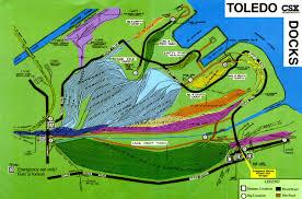 Map Toledo Ohio by Maps And Trackcharts Of Nw Ohio Maw