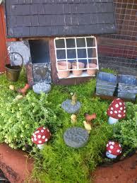 Outdoor Fairy Garden Ideas by Sunny Simple Life Chicken Coop Fairy Garden Done