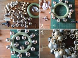 diy ornament wreath lettered garland k designs