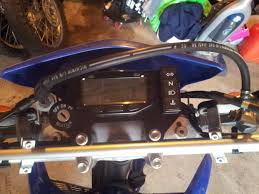 drz 400 s to sm speedo problem