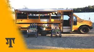 tour our diy converted bus rv youtube