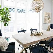 navy blue wingback dining chairs design ideas