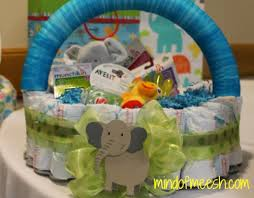 Diaper Cake Directions Make A Diy Diaper Cake Basket For A Mom To Be Modern Mom Life