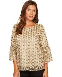 calvin klein blouses check out these bargains on calvin klein embroidered bell sleeve