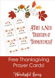 i am thankful cards a simple family tradition worshipful living