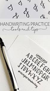 penmanship practice for adults 10 handwriting tutorials for your bullet journal page flutter