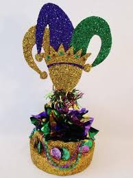 mardi gras centerpieces festive centerpiece for all types of holidays designs by