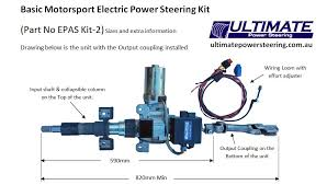electric power assisted steering epas