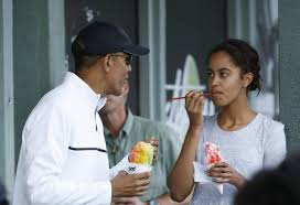 obama starts 2015 with u0027shave ice u0027 outing in hawaii