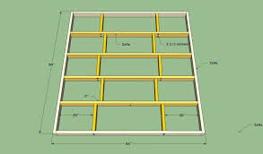 Plans For A Platform Bed Frame by Platform Bed Frame Plans Howtospecialist How To Build Step By
