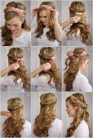 tuck in hairstyles tuck and cover half hairdo tutorial pictures photos and images