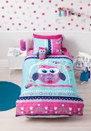 pretty owl quilt cover set owl bedding kids bedding dreams