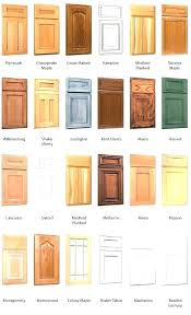 kitchen cabinets types types of cabinet wood maple kitchen cabinets by cabinetry best type