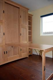 Hidden Home Office Desk by Wallbed Murphy Bed With Hidden Fold Down Table Or Desk Perfect